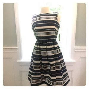 "NWT Lilly Pulitzer ""Eryn"" Stripe Dress Size 4!"
